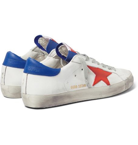 Golden Goose - Superstar Distressed Leather Sneaker01