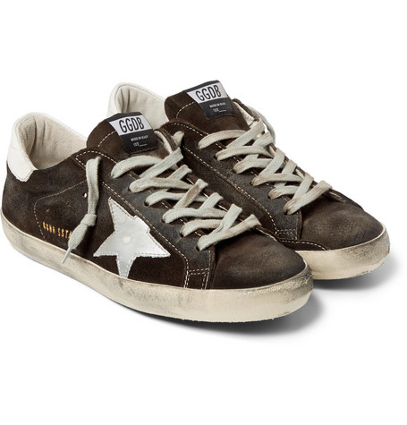Golden Goose - Superstar Suede Sneakers00