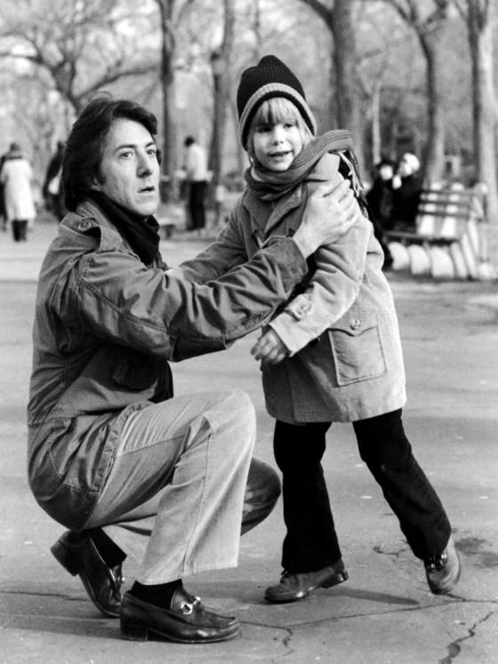 """Film """" Kramer contro Kramer """" ( Titolo italiano """" Kramer contro Kramer """" ) 1980 di Robert Benton Nella foto: Dustin HOFFMAN e Justin HENRY in una scena del film Ph. Lom / FARABOLAFOTO"""