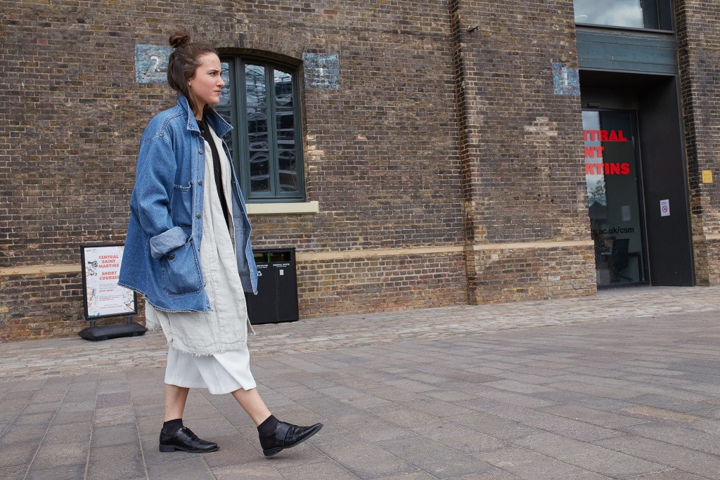 Around campus at Central Saint Martins in London as the fall semester began.