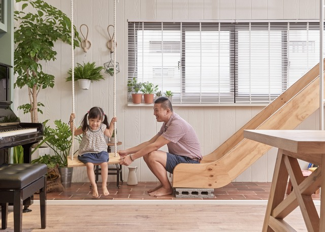adds-wooden-slide-and-swings-to-family-home-1