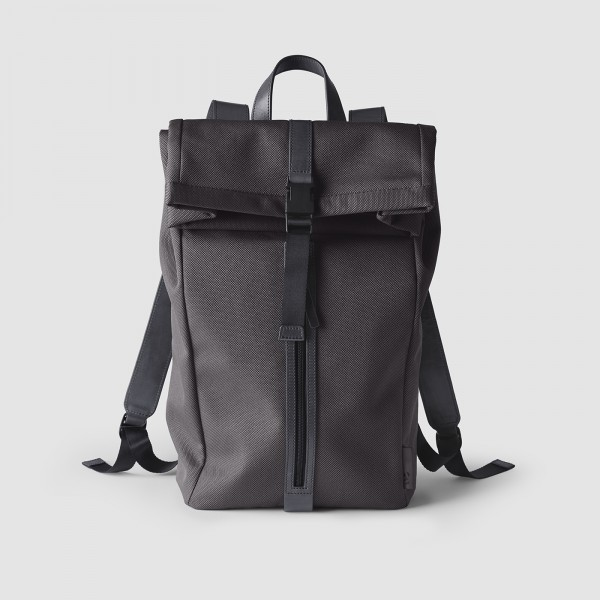 octovo-fabric-backpack-charcoal-front